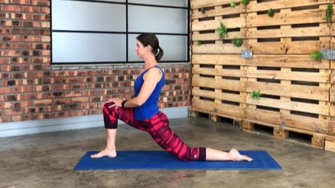 Unlock tight hips and hamstrings