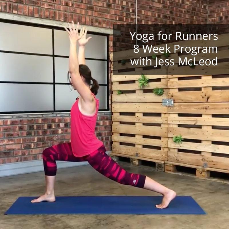 8 week yoga for runners progrram
