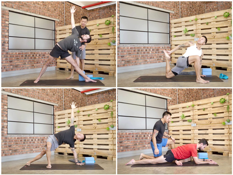 Yoga for Runners Flexibility with Bruce