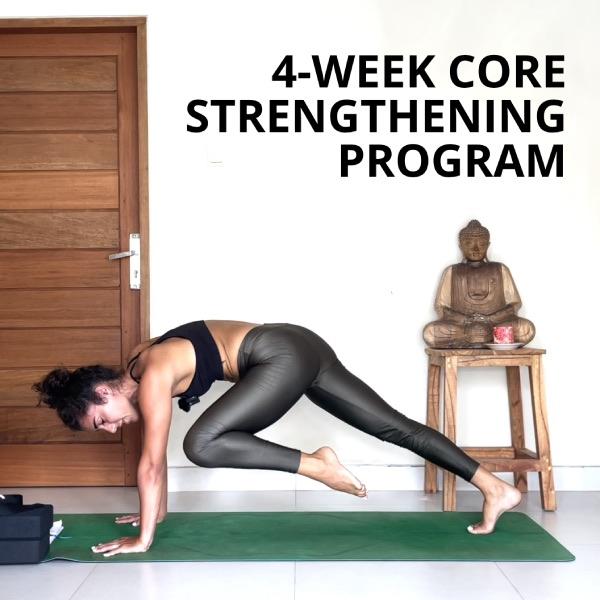 4-WEEK CORE STRENGTHENING PROGRAM